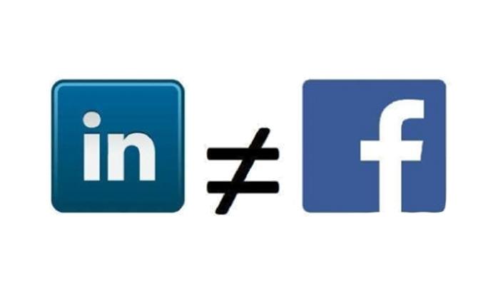 A LinkedIn nem Facebook